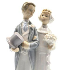 Lladro Wedding- Bride and Groom